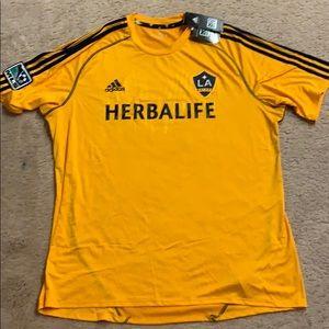 NWT MLS Soccer LA Galaxy Jersey XL
